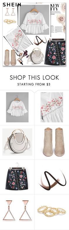 """Floral"" by musicajla ❤ liked on Polyvore featuring Aquazzura and Burberry"