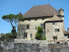 Yvoire - Medieval castle - Haute-Savoie dept. - Rhône-Alpes région, France    ...www.routard.com