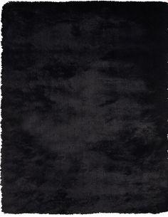 Indochine Shag Rug | Black