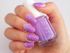 """""""Radiant Orchid"""" Nail Art - Featuring Essie Play Date"""