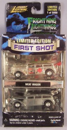 ctd-Johnny Lightning 2000 First Shot Meat Wagon-chrome/unpainted/Z
