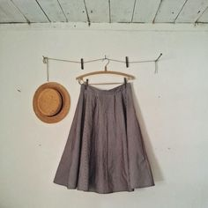 A simple yet beautiful stripey skirt made by Malin Bohm