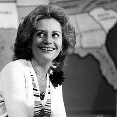 The young Barbara Walters. She got even better with age.