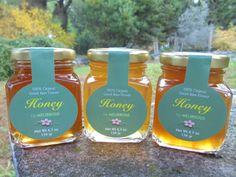 Greek Honey Gift Sampler Set - All Natural & Organic - With Flower Honey & Forest Honey - 3 Jars Of - Each by Melirrous on Gourmly Vitex Agnus Castus, Honey Sticks, Citrus Trees, Natural Honey, Gourmet Gifts, Best Christmas Gifts, Organic Recipes, Jars, Greek