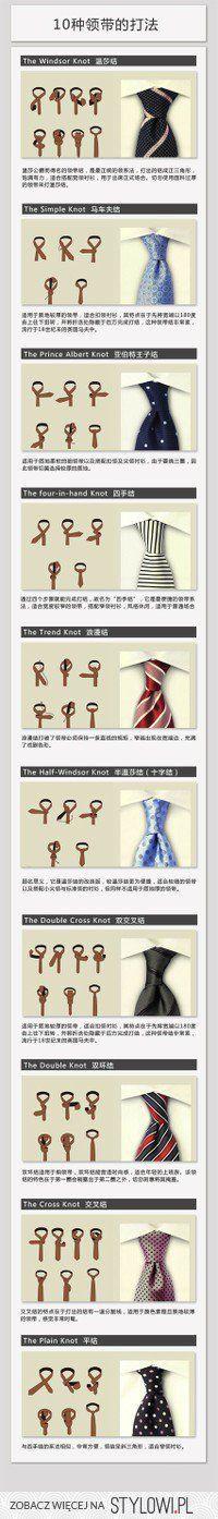 krawat na wiele sposobów ;)