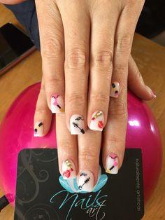 Acrylic nails, nails art, makeup nails, nails