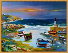 Christian Zhekel is one of the most famous artists of modern France. Dance Paintings, Landscape Paintings, Pour Painting, Painting & Drawing, Sailboat Painting, Art Gallery, Christian Artwork, Kauai, Graphic Design Art