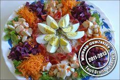 Salade composée ( idée présentation) | Matbakh Oumzakino