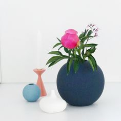 Beautiful vase by cooee design styling by lumikello www.lumikello.de