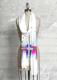 Modal Scarf - Life of God Love Sunset by VIDA VIDA 3j7mte