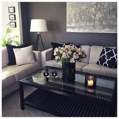 small living room designs are offered on our website. Check it out and you will not be sorry you did. Small Living Rooms, Home Living Room, Apartment Living, Living Room Decor, Apartment Ideas, Living Room Inspiration, Home Decor Inspiration, Interior Design Living Room, Living Room Designs