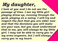 This made me a little sad... I'm going to enjoy letting her be little for as long as I can b/c this really is so true!