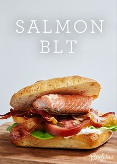 As far as sandwiches are concerned, the BLT is hard to beat. Juicy tomatoes, crisp lettuce, salty bacon, with a thick cut of Salmon. This Salmon BLT takes 45 minutes to make so it's an easy dinner option any night of the week.