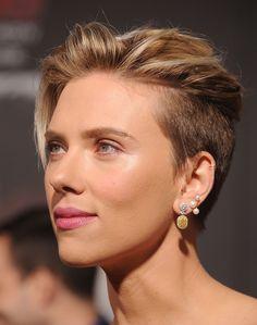 Best Celebrity Hairstyles to Copy | Scarlett Johansson's sexy short cut
