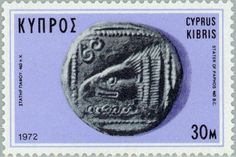Sello: Silver Stater of Paphos (Chipre) (Ancient Coins of Cyprus) Mi:CY 381,Yt:CY 373