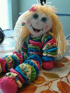 Blonde Bright Yo-Yo Doll