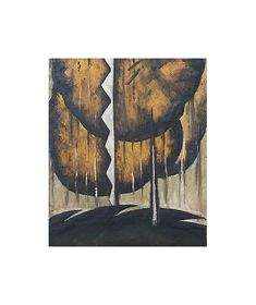 Thunderstorm by Arthur Dove, 1921, oil and metallic paint on canvas