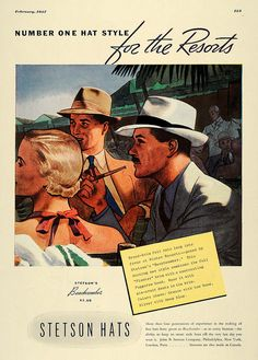 Publicidad de Stetson 30s