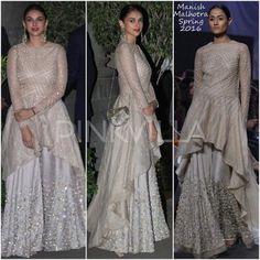 Style File : Aditi, Huma, Sophie and Parineeti in Manish Malhotra | PINKVILLA