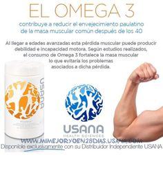 Biomega Usana #omega3 Salud Muscular #MiMejorYoEn28Dias #MiMejorYoEn28Días