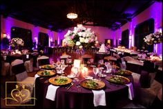 ELEGANT QUINCEANERA THEMES   The incredible upstairs ballroom at Comber Hall-decorated by Sylvia's ...