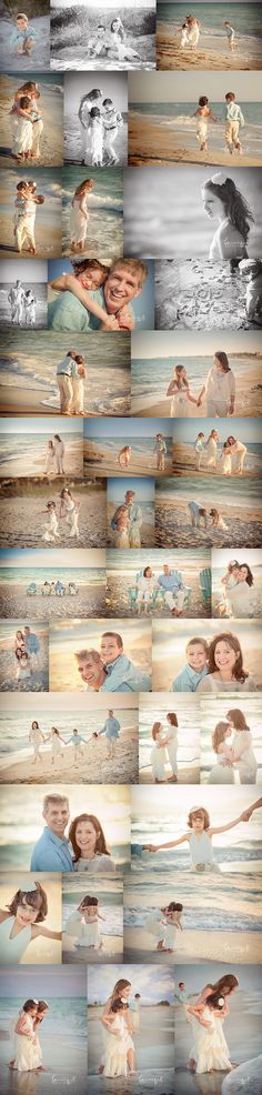 ideas for baby photography beach family photographer
