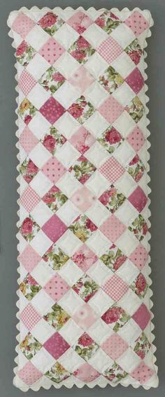 Sweet Retreat Accessories patchwork...expand this for a cute baby quilt.