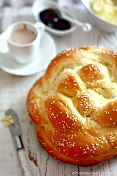 Honey White Challah........I made it once and it was good, I must try your recipe, it looks delicious....ca