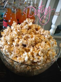 Saving this mainly for the caramel popcorn recipe most of the way down the page - there's a lot of halloween party ideas on there as well.