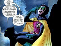 I miss Damian Wayne. Snarkiest Robin ever.