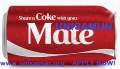 share a coke with UNISAMUN
