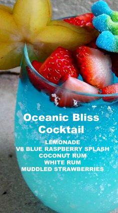 Oceanic Bliss Cocktail Recipe