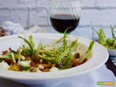 Insalata di puntarelle e bresaola  #ricette #food #recipes