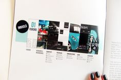 PSTEREO by Lisa Gjønnes, via Behance