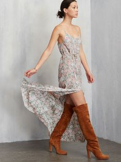Just another long, lovely slip dress for you ladies. You can't go wrong in this one and you can wear it pretty much anywhere - work, brunch, or yet another wedding you don't wanna go to. The Sparrow Dress. https://www.thereformation.com/products/sparrow-dress-teheran?utm_source=pinterest&utm_medium=organic&utm_campaign=PinterestOwnedPins