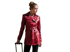 JAMES&CO Womens Faux Leather Trench Coat Buttoned Belted(XS, Red) James&Co http://www.amazon.co.uk/dp/B00M7J31G2/ref=cm_sw_r_pi_dp_d0PFwb0EAJ74N