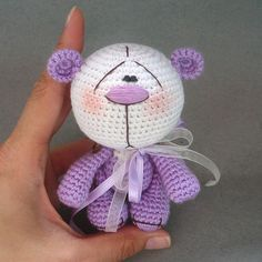 Cute bear amigurumi pattern - FREE