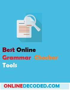 41 Best Online Grammar Checker images in 2018 | Grammar, Online