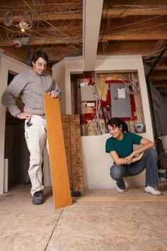 When a board sustains damage in the middle of a laminate floor, you have two options for replacing it. One is to disassemble the floor down to the damaged board, replace the board and reassemble the . Laminate Flooring Fix, Laminate Floor Repair, Diy Flooring, Wood Laminate, Hardwood Floors, Plywood Subfloor, Diy Home Repair, Home Repairs, Home Improvement