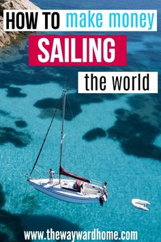It is possible to make money remotely while sailing the world. If living on a sailboat is your dream, check out how these women make money while traveling. – My World Sailboat Living, Living On A Boat, Make A Boat, Build Your Own Boat, How To Build Abs, How To Make Money, Liveaboard Boats, Liveaboard Sailboat, Best Boats