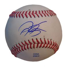 KC Royals Jason Kendall signed Rawlings ROLB leather baseball w/ proof photo.  Proof photo of Jason signing will be included with your purchase along with a COA issued from Southwestconnection-Memorabilia, guaranteeing the item to pass authentication services from PSA/DNA or JSA. Free USPS shipping. www.AutographedwithProof.com is your one stop for autographed collectibles from Kansas City sports teams. Check back with us often, as we are always obtaining new items.