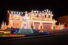 Vote for Best Private Lights Display! A Reno house is a contender on USA TODAY's 10 best list!