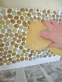 step 6 glass mosaic