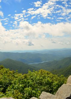 Blue ridge parkway mountains, craggy gardens,