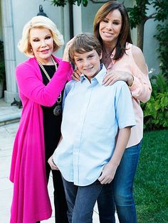 Joan Rivers's life in photos: For her 2011 WE tv reality show, 'Joan & Melissa: Joan Knows Best?', Rivers moved to California to bunk with her daughter and grandson.