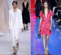 Los looks monocolor de las celebrities Total Looks: Boss e Elie Saab