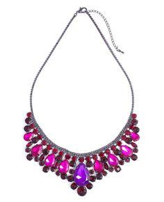 Fuchsia Kiss Necklace