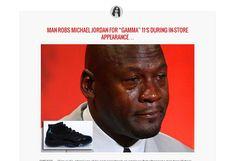 Michael Jordan man robs mj
