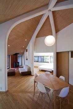 Pentagonal house