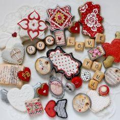 Arty McGoo Valentine's Day Cookies